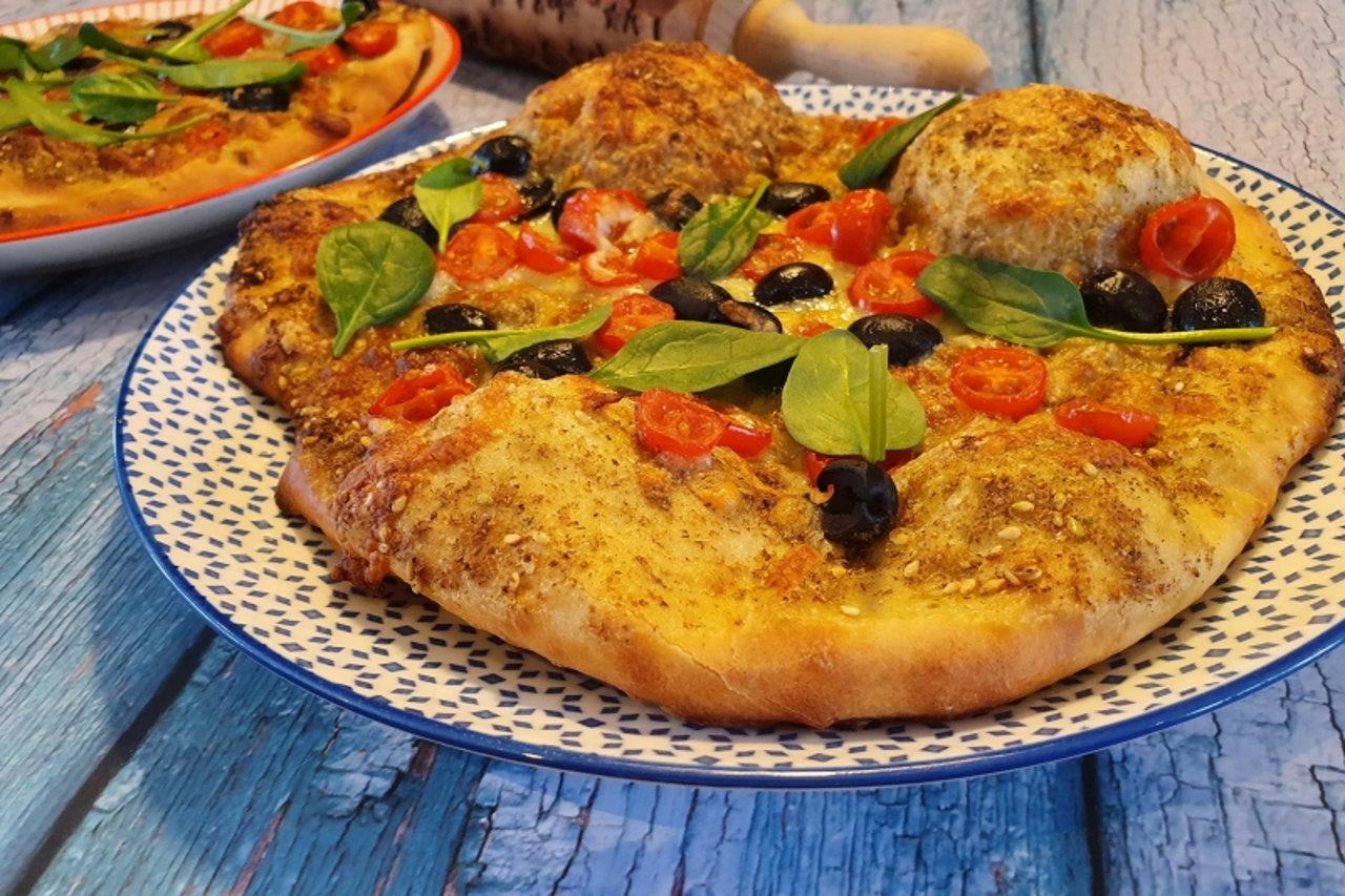 Pizza po arabsku! Wypróbuj w domu